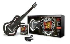 NEW PS3 Guitar Hero Warriors of Rock Wireless Guitar & Game Bundle RARE