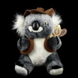 Koala Stuffed Soft Plush Toy Australian Waltzing Matilda Sound Fauna Souvenir
