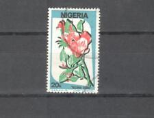 NIGERIA 491- FIORI TECOMAS 1986 - MAZZETTA DI 30 -  VEDI FOTO