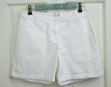 Jones New York Womens Size 6P (28) White Casual Shorts 140-18651