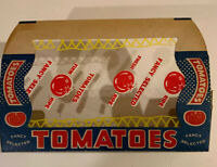 Vintage 1950s Fancy Selected Tomatoes Box Advertising NOS vegetable NOS