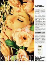 Publicité Advertising 018  1967  Orlane  cosmétiques  creme Gelée Royale