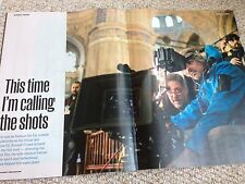 RUSSELL CROWE PHOTO INTERVIEW SUNDAY TIMES MAGAZINE MARCH 22 2015 BRAND NEW