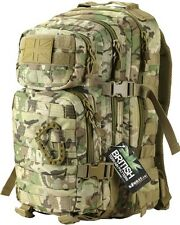 28 Litre MOLLE DAYSACK BTP / MTP CAMO ARMY STYLE  Assault  Pack RUCKSACK CADET
