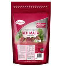 Morlife Red Maca Powder 1KG   Superfood   Certified Organic   Peru   Raw