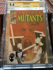 New Mutants #26 CGC SS Graded 9.4 1st app Legion from FX TV Show Jim Shooter