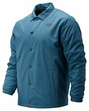 New Balance Men's Classic Winter Coaches Jacket Blue