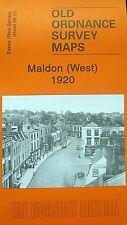 OLD ORDNANCE SURVEY  MAPS MALDON WEST ESSEX  1920 SHEET 55.16 NEW