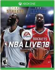 NBA LIVE 18 Basketball Game Xbox One or Xbox One S Console Brand New Ships Fast