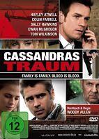 CASSANDRA'S TRAUM   DVD NEU  EWAN MCGREGOR/COLIN FARRELL/SALLY HAWKINS/+