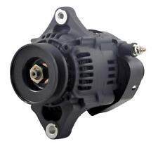 NEW CHEVY MINI ALTERNATOR FITS DENSO STREET ROD RACE 93MM BLACK 60AMP 1 WIRE