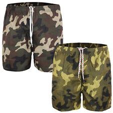 Costume Uomo Mare Mimetico Boxer Piscina Pantaloncino Casual Bermuda Shorts