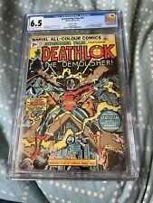 ASTONISHING TALES #25 MARVEL COMICS DEATHLOK AUGUST 1974 CGC 6.5