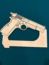 Colt 1911 .45 Cal Woodworking Table Saw Router table Jointer Push Block Stick