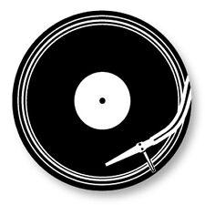 "Pin Button Badge Ø25mm 1"" Disque Vinyl DJ Platine Music Musique"