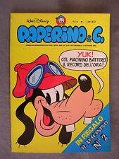 PAPERINO E C. #  14 - 4 ottobre 1981 - CON INSERTO - WALT DISNEY - OTTIMO