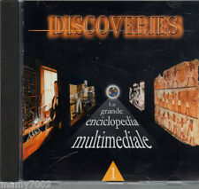 CD ROM=DISCOVERIES=LA GRANDE ENCICLOPEDIA MULTIMEDIALE=L'ESPRESSO =ANNO 2000