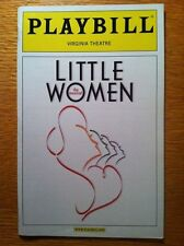 Playbill Little Women Sutton Foster Maureen McGovern Jenny Powers Danny Gurwin