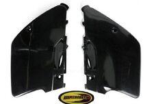 Ufo Black Side Plate Plastic Fits Kawasaki Kx125 Kx250 1994 1995 1996 1997 1998