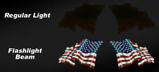 American Flag Reflective Decals, Set of 2  #EF02
