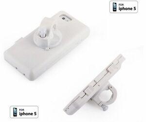 Bike Bicycle Handlebar Shock Proof Waterproof Case Mount Holder Fit iPhone 5 5S