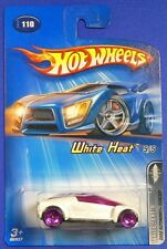 Mattel Hot Wheels 2005 1:64 Scale White Heat 2002 Autonomy Concept 5/5 Die Cast