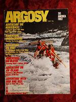 ARGOSY May 1972 BILL SURFACE American CAVES APPALACHIAN TRAIL Joe Gores +++