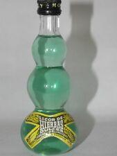 Licor de HIERBAS 60 ml  mini flaschen bottle miniature bottela mignonnette Old