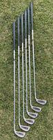 Vintage Spalding Elite Tour Balancing System Iron Set Sr-Flex Steel Shafts RH