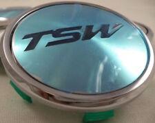 TSW Wheels Chrome Wheel Center Caps QTY 1 # C-C43-1 NEW!
