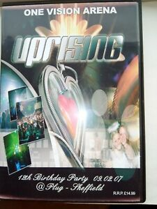 UPRISING- 09.02.07 - 12th BIRTHDAY PARTY -ONE VISION ARENA 4 CD PACK