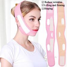 Women V-Line Lift Up Reduce Double Chin Face-lift  Belt Face Slimming Bandage
