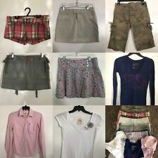 8 Pcs Lot Womens Juniors SzX Small 0-1 Mixed Clothing Hollister More