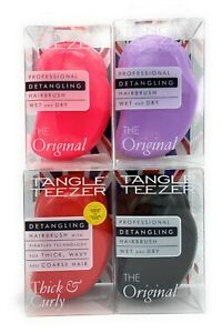 TANGLE TEEZER The Original Detangling Wet/Dry Hair Brush CHOOSE COLOR! - SEALED