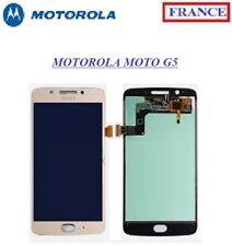 Écran COMPLET LCD + VITRE Tactile Motorola Moto G5 OR