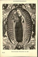 Alte Künstlerkarte ~1910 Museum BERLIN Niederdeutscher Holzschnitt um 1460