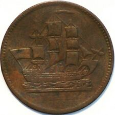 Canada Ships Colonies Commerce Breton 997 token (B+719)