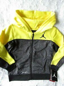 NIKE Jordan ThermaFit Jumpman Zip Up Hoodie Youth Boys Pick Color & size 4,5,6,7