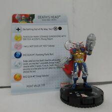 Marvel HeroClix Invincible Iron Man Death's Head #28 Figure w/ Card E01