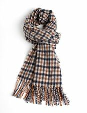 Aquascutum Classic Wool Club Multi-coloured Check Scarf