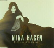 Maxi CD - Nina Hagen - Der Wind Hat Mir Ein Lied Erzählt - #A2557