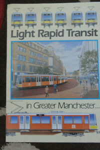Brochure Issued in 1984/5 by Greater Manchester PTE on the Proposed Tram Network