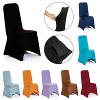 1pc Dining Chair Covers Spandex Slip Cover Stretch Wedding Banquet Party Decor