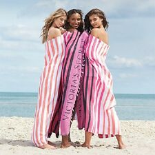 Victoria's Secret 2017 Limited Edition Summer Striped Beach Blanket *Brand New*