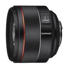Samyang AF 85mm F1.4 High Speed Lens for Nikon F Mount - SYIO85AF-N