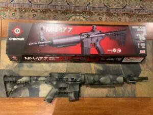 Crosman  M4-177.177 cal BB + pellet rifle 700 FPS - Powder Coat Camo - New!