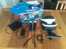 PS4 Virtual Reality Mega bundle,........ slightly used