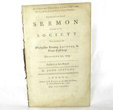 BAPTIST Sermon Comfort and Establishment of Saints God's Own Work JOHN STEVENS