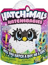 Hatchimals Hatchibabies, Ponette, Hatching Egg With Interactive Toy Pet Baby