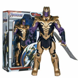 "ZD Marvel Avengers Super Hero Thanos Play Toy PVC 7"" Action Figure Model Gift"